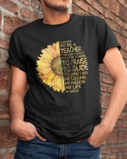 I Was Born To Be A Teacher Classic T-Shirt apparel-classic-tshirt-lifestyle-26