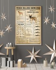 French Bulldog Knowledge 11x17 Poster lifestyle-holiday-poster-1