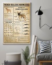 French Bulldog Knowledge 11x17 Poster lifestyle-poster-1