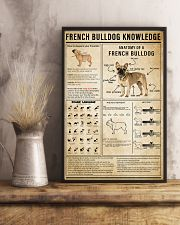 French Bulldog Knowledge 11x17 Poster lifestyle-poster-3