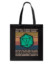 You Roll To Move Silently Tote Bag thumbnail