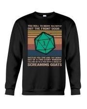 You Roll To Move Silently Crewneck Sweatshirt thumbnail