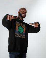 You Roll To Move Silently Hooded Sweatshirt apparel-hooded-sweatshirt-lifestyle-front-12