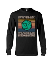 You Roll To Move Silently Long Sleeve Tee thumbnail