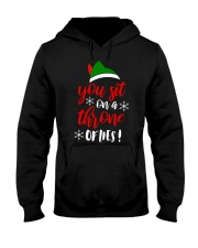 You Sit On A Throne Of Lies Hooded Sweatshirt thumbnail