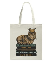 Cat's Lady Tote Bag thumbnail