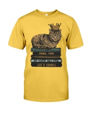 Cat's Lady Classic T-Shirt front