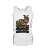 Cat's Lady Unisex Tank tile