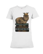 Cat's Lady Premium Fit Ladies Tee tile
