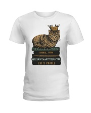 Cat's Lady Ladies T-Shirt tile
