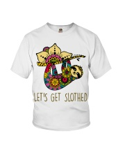 Let Get Slothed Youth T-Shirt thumbnail