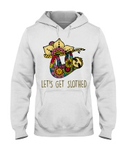 Let Get Slothed Hooded Sweatshirt thumbnail