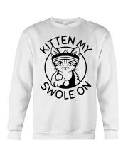 Kitten My Swole On Crewneck Sweatshirt thumbnail