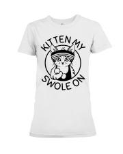 Kitten My Swole On Premium Fit Ladies Tee thumbnail