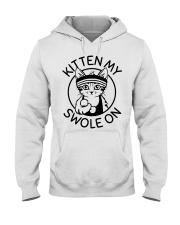 Kitten My Swole On Hooded Sweatshirt thumbnail