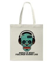 Music Is What Feeling Tote Bag thumbnail