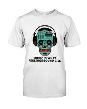 Music Is What Feeling Classic T-Shirt thumbnail