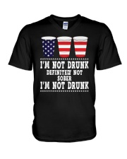 I Am Not Drunk V-Neck T-Shirt thumbnail