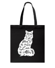 Being A Cat Mom Tote Bag thumbnail