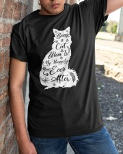 Being A Cat Mom Classic T-Shirt apparel-classic-tshirt-lifestyle-27
