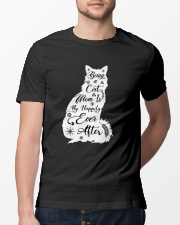 Being A Cat Mom Classic T-Shirt lifestyle-mens-crewneck-front-13