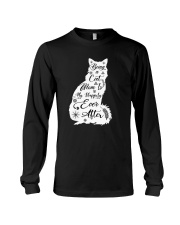 Being A Cat Mom Long Sleeve Tee thumbnail