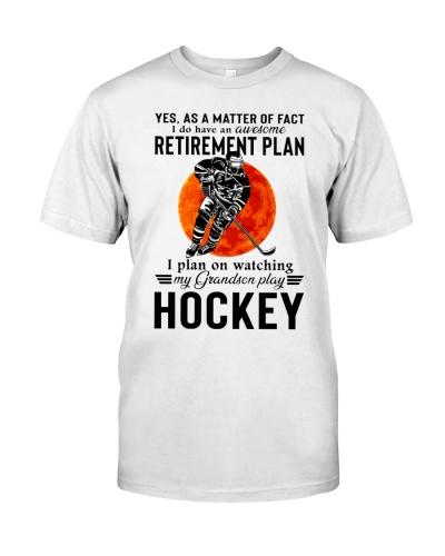 My Grandson Play Hockey