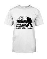 Go Outside Classic T-Shirt thumbnail