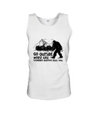 Go Outside Unisex Tank thumbnail
