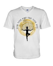 Find Your Soul V-Neck T-Shirt thumbnail