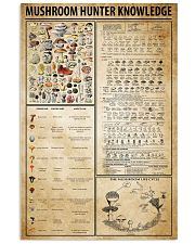 Mushroom Hunter Knowledge 11x17 Poster front