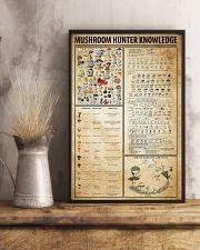 Mushroom Hunter Knowledge 11x17 Poster lifestyle-poster-3