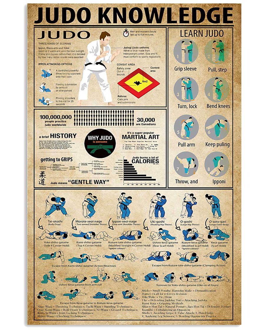 Judo Knowledge 11x17 Poster