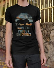 Save The Chubby Unicorns Classic T-Shirt apparel-classic-tshirt-lifestyle-21