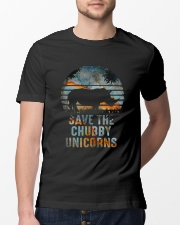 Save The Chubby Unicorns Classic T-Shirt lifestyle-mens-crewneck-front-13