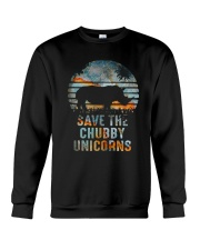 Save The Chubby Unicorns Crewneck Sweatshirt thumbnail