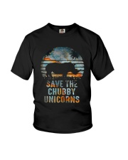 Save The Chubby Unicorns Youth T-Shirt tile