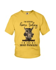 I'm Staying Home Today Youth T-Shirt thumbnail