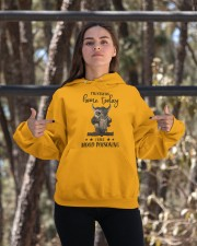 I'm Staying Home Today Hooded Sweatshirt apparel-hooded-sweatshirt-lifestyle-05