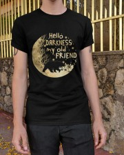 Hello Darkness My Old Friend Classic T-Shirt apparel-classic-tshirt-lifestyle-21