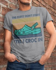 The Party Don't Start Classic T-Shirt apparel-classic-tshirt-lifestyle-26