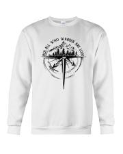 Not All Who Wander Are Lost Crewneck Sweatshirt thumbnail