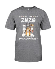 Dog Mom 2020 Classic T-Shirt front