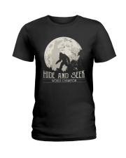 Hide And Seek World Champion 1 Ladies T-Shirt thumbnail