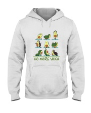 Do More Yoga Hooded Sweatshirt front