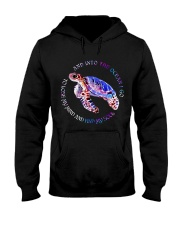 And Into The Ocean I Go Hooded Sweatshirt front