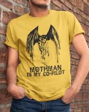 Moth Man Is My Co Pilot Classic T-Shirt apparel-classic-tshirt-lifestyle-26