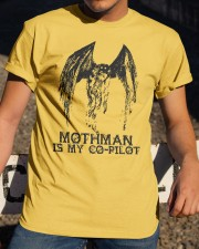 Moth Man Is My Co Pilot Classic T-Shirt apparel-classic-tshirt-lifestyle-28