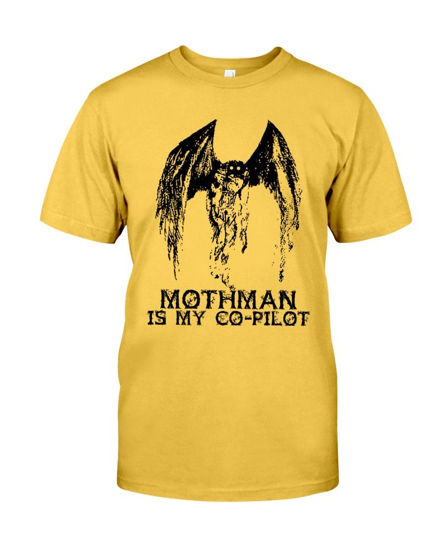 Moth Man Is My Co Pilot Classic T-Shirt