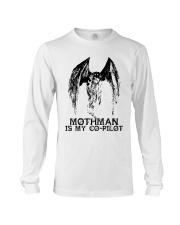 Moth Man Is My Co Pilot Long Sleeve Tee thumbnail